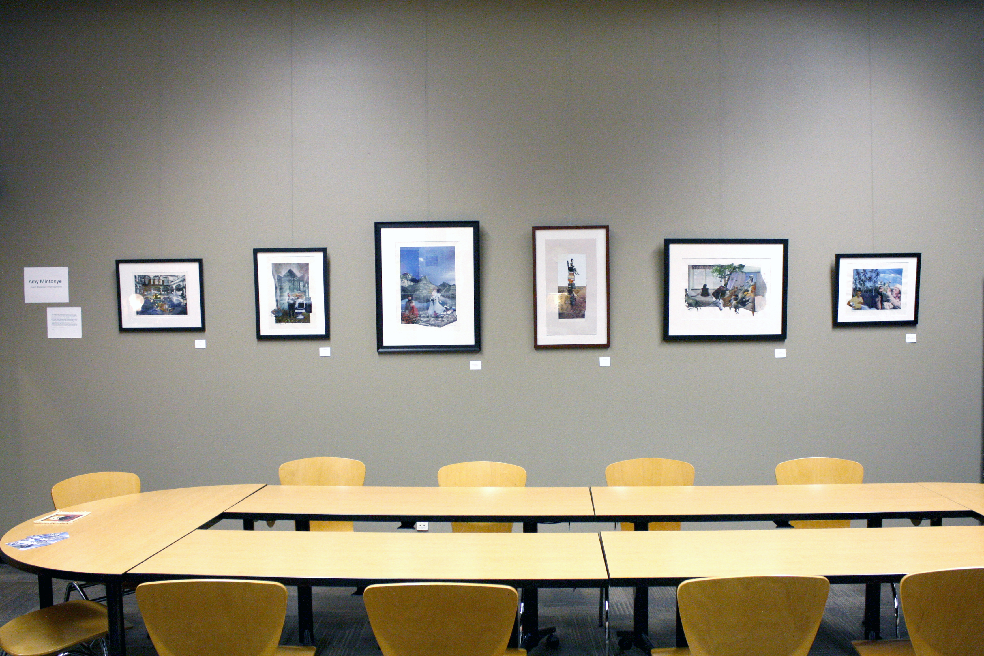 Hosed – solo exhibition at Mt. Hood Community College Diversity Resource Center