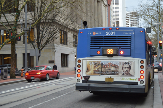 General awareness campaign for Pittock Mansion. Ran on multiple buses during the Mansion\'s slow season to encourage visits from locals.